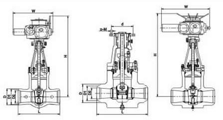 Z960Y高溫高壓電站閘閥